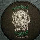 MOTORHEAD sew-on PATCH England warpig round IMPORT