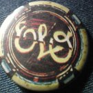 E.L.O. PINBACK BUTTON electric light orchestra elo VINTAGE