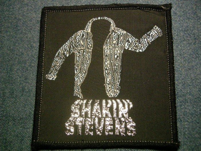 SHAKIN STEVENS sew-on PATCH jacket logo VINTAGE