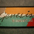GENESIS sew-on PATCH 1982 Tour abacab phil collins VINTAGE