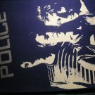 THE POLICE BACKPATCH band pic glitter logo sting patch VINTAGE