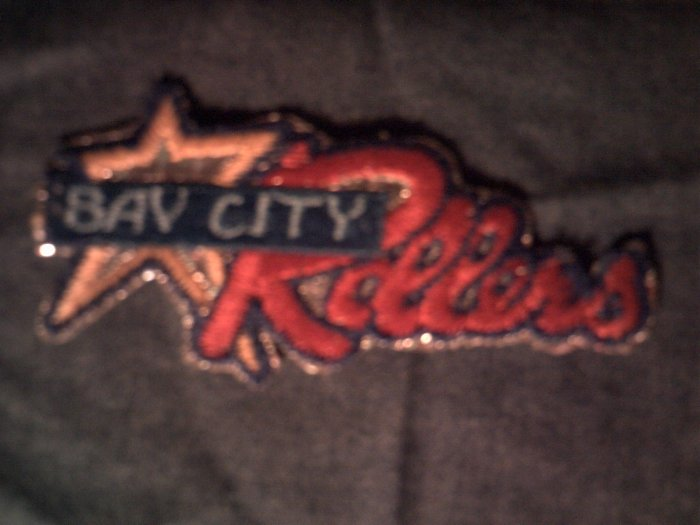 THE BAY CITY ROLLERS iron-on PATCH prism classic logo VINTAGE 70s!