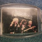 JUDAS PRIEST KEYCHAIN Defenders of the Faith band pic key chain VINTAGE 80's!