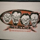 METALLICA sew-on PATCH metal heads logo jason newsted