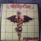 MOTLEY CRUE PINBACK BUTTON Dr Feelgood album art VINTAGE