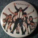 MADNESS PINBACK BUTTON band pic ska punk VINTAGE