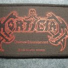 MORTICIAN sew-on PATCH Chainsaw Dismemberment IMPORT