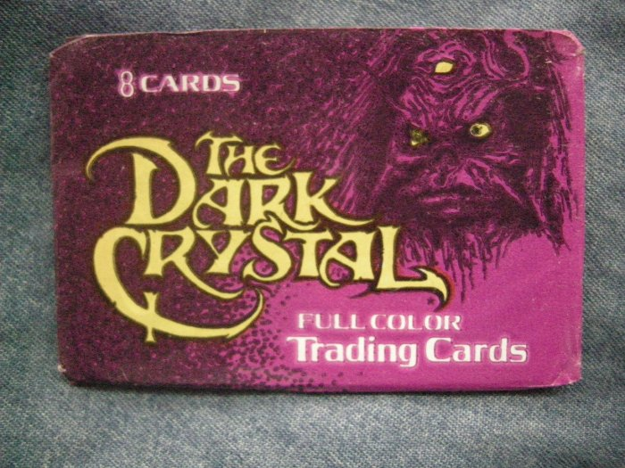 THE DARK CRYSTAL TRADING CARDS 1982 movie jim henson muppets SEALED PACK!