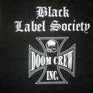 BLACK LABEL SOCIETY SHIRT Doom Crew Inc skull zakk wilde ozzy osbourne tank licensed L NEW!