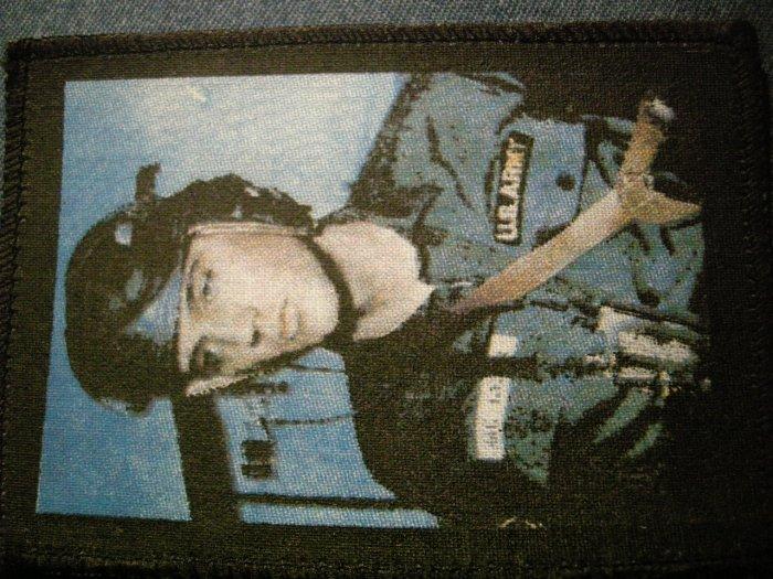 ELVIS PRESLEY sew-on PATCH army photo import VINTAGE