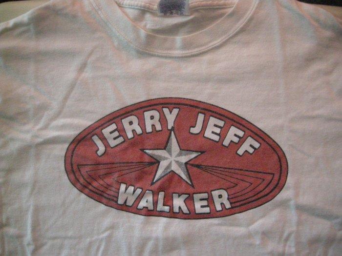 JERRY JEFF WALKER SHIRT red lone star texas XL HTF!
