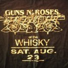 GUNS N ROSES SHIRT At the Whiskey Sat Aug 23 L