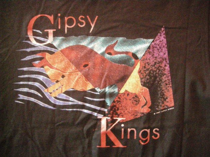 GIPSY KINGS SHIRT bull art latin L