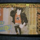 SEX PISTOLS sew-on PATCH Something Else sid vicious punk IMPORT