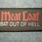 MEAT LOAF sew-on PATCH Bat Out of Hell logo meatloaf VINTAGE