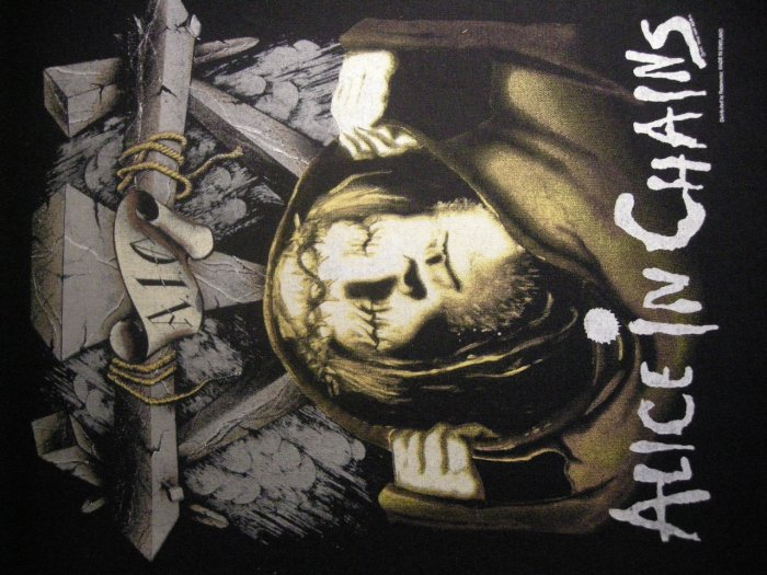 ALICE IN CHAINS BACKPATCH bleed the freak aic patch VINTAGE