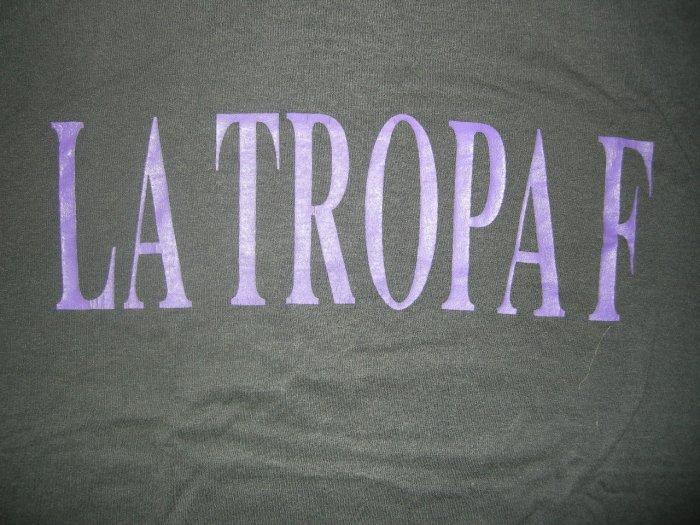 LA TROPA F SHIRT In the House! tejano latin L