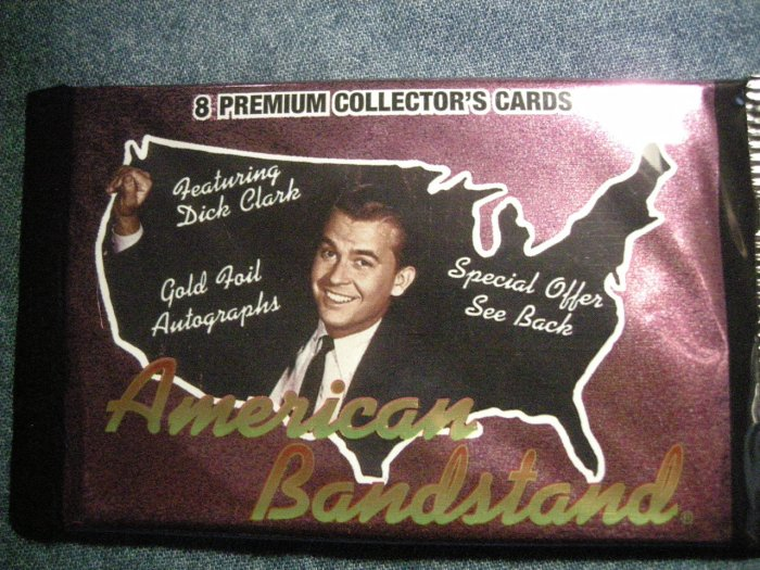 AMERICAN BANDSTAND TRADING CARDS Dick Clark music SEALED PACK!