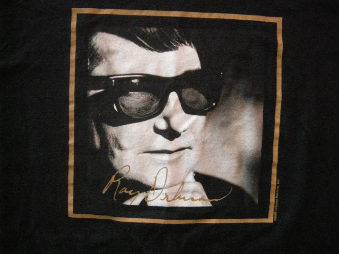 ROY ORBISON SHIRT B&W pic 2XL XXL HTF!