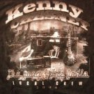 KENNY CHESNEY SHIRT Road & the Radio Tour 2006 country XL LOCAL CREW ONLY SALE