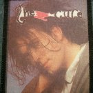 THE CURE sew-on PATCH Robert Smith photo import VINTAGE