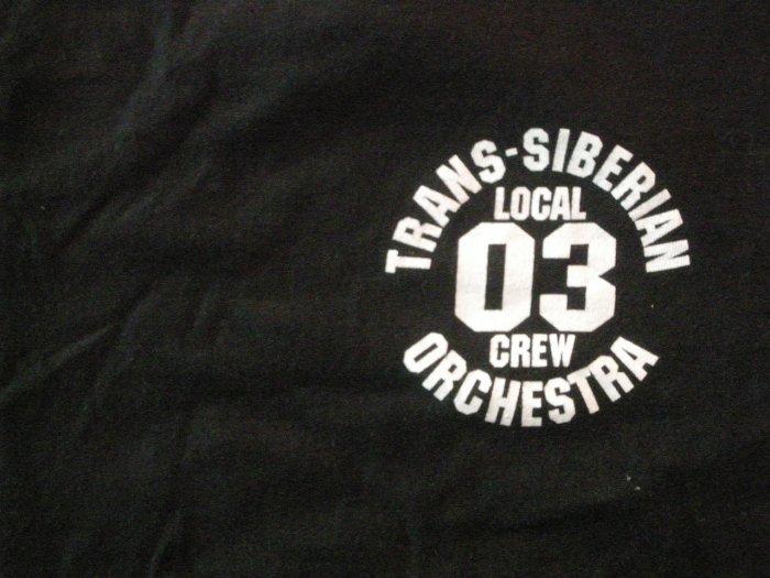 TRANS-SIBERIAN ORCHESTRA SHIRT Tour 2003 savatage oliva tso XL LOCAL CREW ONLY!