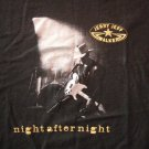 JERRY JEFF WALKER SHIRT Night After Night birthday weekend concert texas XL RARE