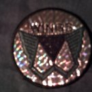 WINGS iron-on PATCH prism paul mccartney the beatles round VINTAGE 70s!