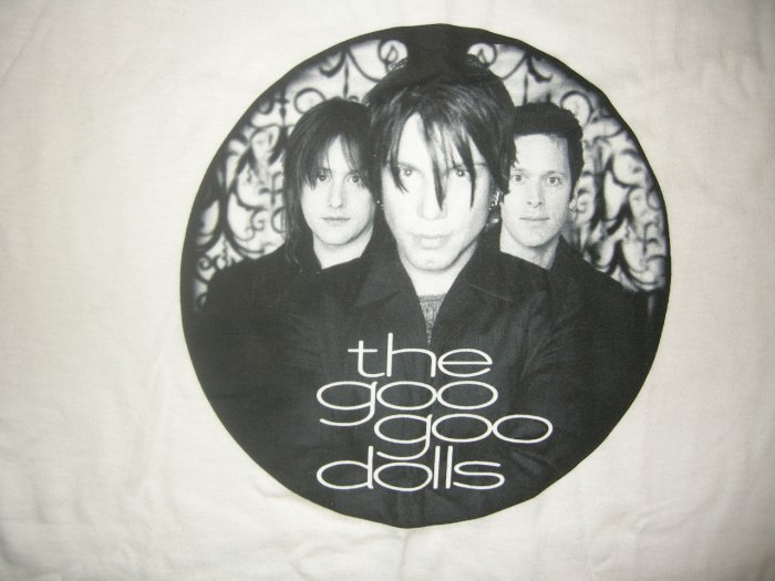 THE GOO GOO DOLLS SHIRT round band pic M NEW SALE