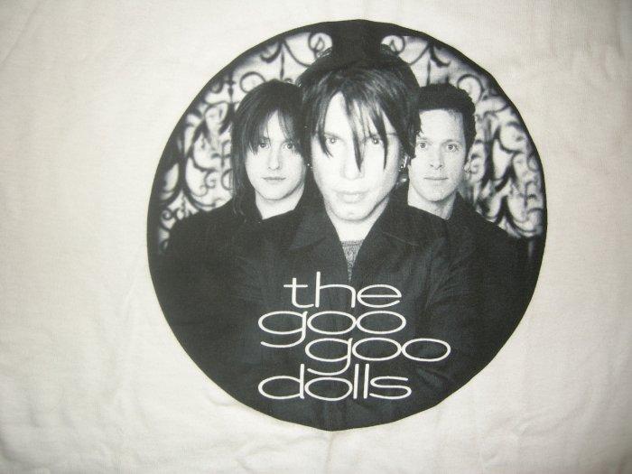THE GOO GOO DOLLS SHIRT round band pic L NEW SALE