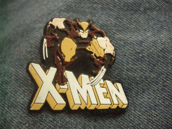 X-MEN TACK PIN wolverine brown uniform xmen button PROMO