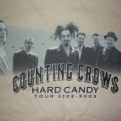 COUNTING CROWS 2002 TOUR SHIRT Hard Candy M NEW!