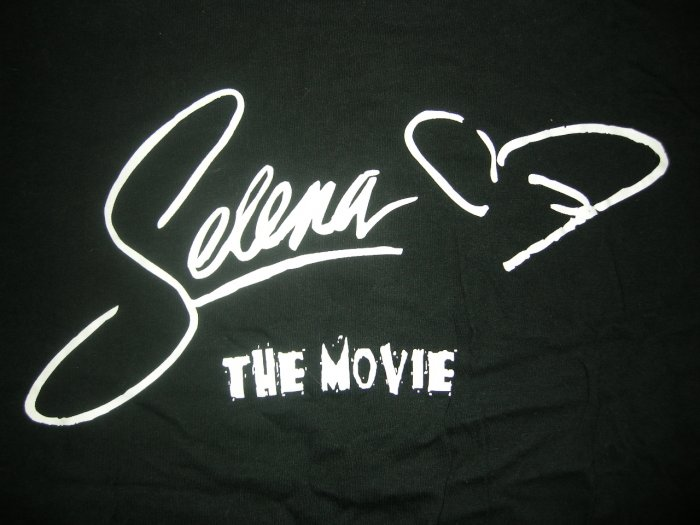SELENA SHIRT movie promo planeta mexico texas latin XL RARE
