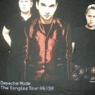 DEPECHE MODE SHIRT Singles Tour 1998 XL