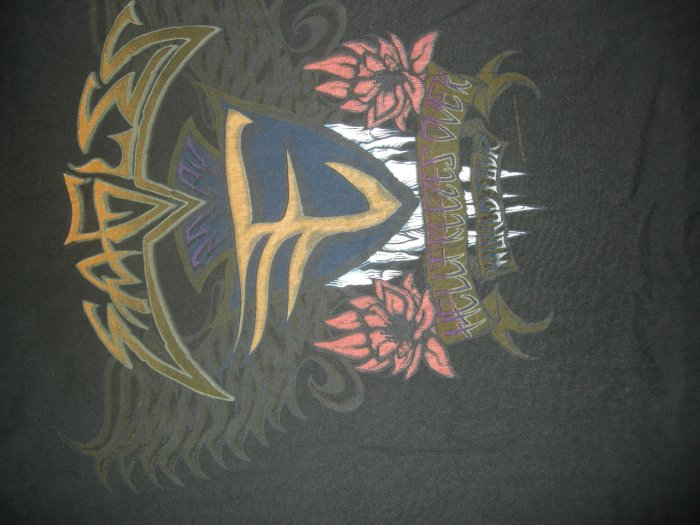 THE EAGLES TOUR SHIRT Hell Freezes Over 1994 black XL
