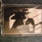 STEVIE RAY VAUGHAN KEYCHAIN Couldn't Stand the Weather srv logo key chain SCARCE!