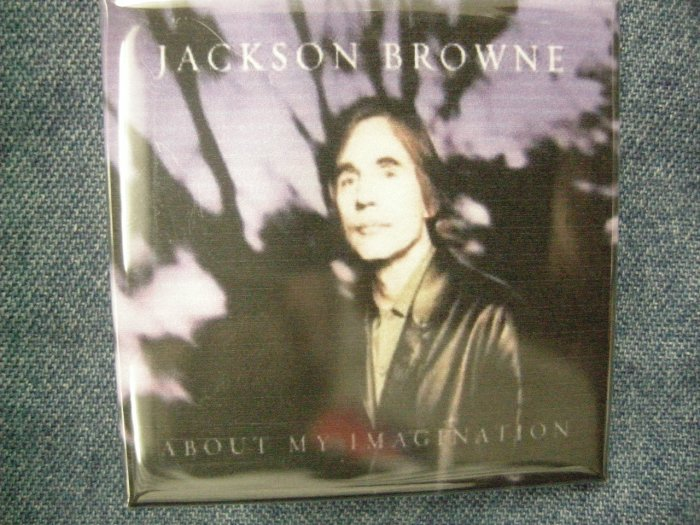 JACKSON BROWNE MAGNET About My Imagination VINTAGE