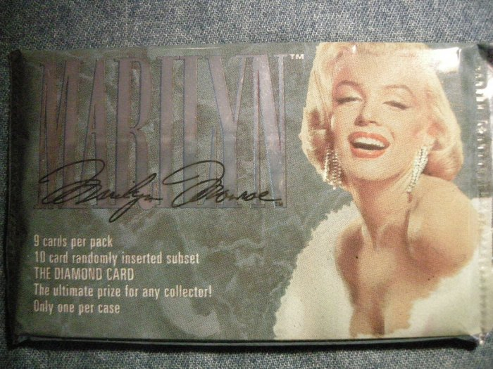 MARILYN MONROE TRADING CARDS 1993 color photos licensed SEALED PACK!