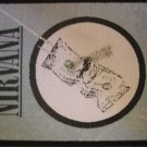 NIRVANA sew-on PATCH Nevermind dollar kurt cobain IMPORT