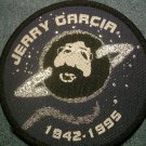 JERRY GARCIA sew-on PATCH planet grateful dead IMPORT
