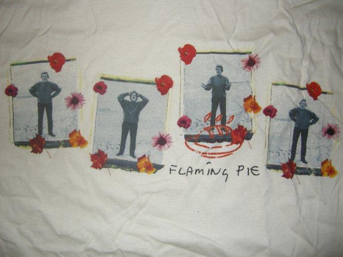 PAUL McCARTNEY SHIRT Flaming Pie the beatles XL NEW!