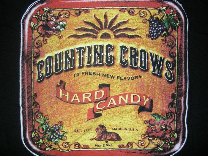 COUNTING CROWS SHIRT Hard Candy tin art M