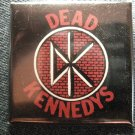 DEAD KENNEDYS PINBACK BUTTON dk logo punk square NEW!