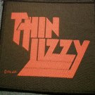 THIN LIZZY sew-on PATCH red classic logo IMPORT