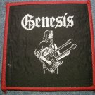 GENESIS sew-on PATCH guitar phil collins VINTAGE