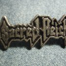 SACRED REICH METAL PIN classic logo badge VINTAGE