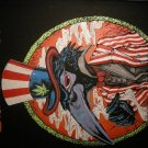 THE BLACK CROWES BACKPATCH uncle sam pot leaf patch VINTAGE