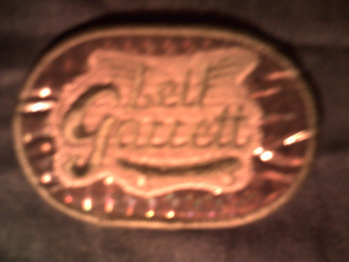 LEIF GARRETT iron-on PATCH prism logo VINTAGE 70s!