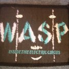 W.A.S.P. sew-on PATCH the Electric Circus wasp VINTAGE