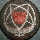 DEICIDE sew-on PATCH Legion logo metal IMPORT
